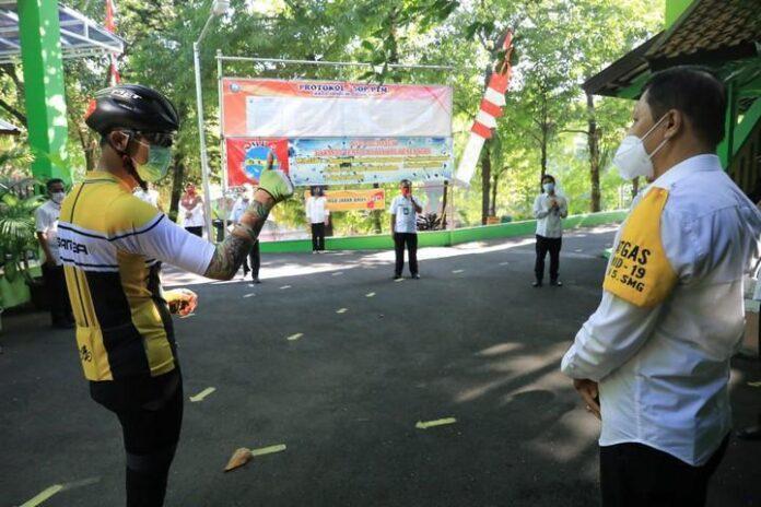 Satgas COVID-19 SMPN 5 Semarang