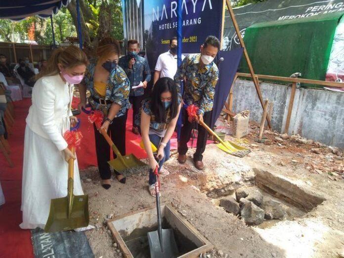 Ground breaking Naraya Hotel